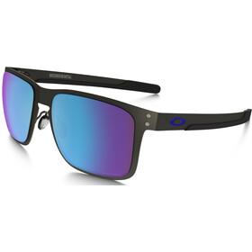 Oakley Holbrook Metal Glasses matte gunmetal/prizm sapphire polarized